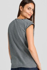 armedangels Armedangels, Carlotta Stripes, black-off white, XS