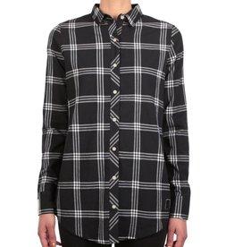 Iriedaily Iriedaily, Macker Plaid Shirt, black, L