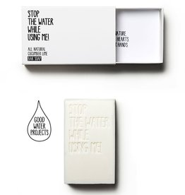STOP THE WATER, Cucumber Lime Bar Soap, 125g