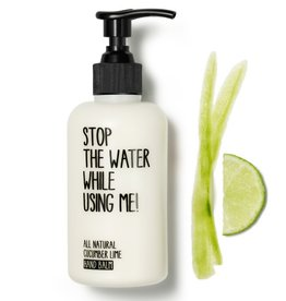 Stop the water while using me STOP THE WATER, Cucumber Lime Hand Balm, 200ml