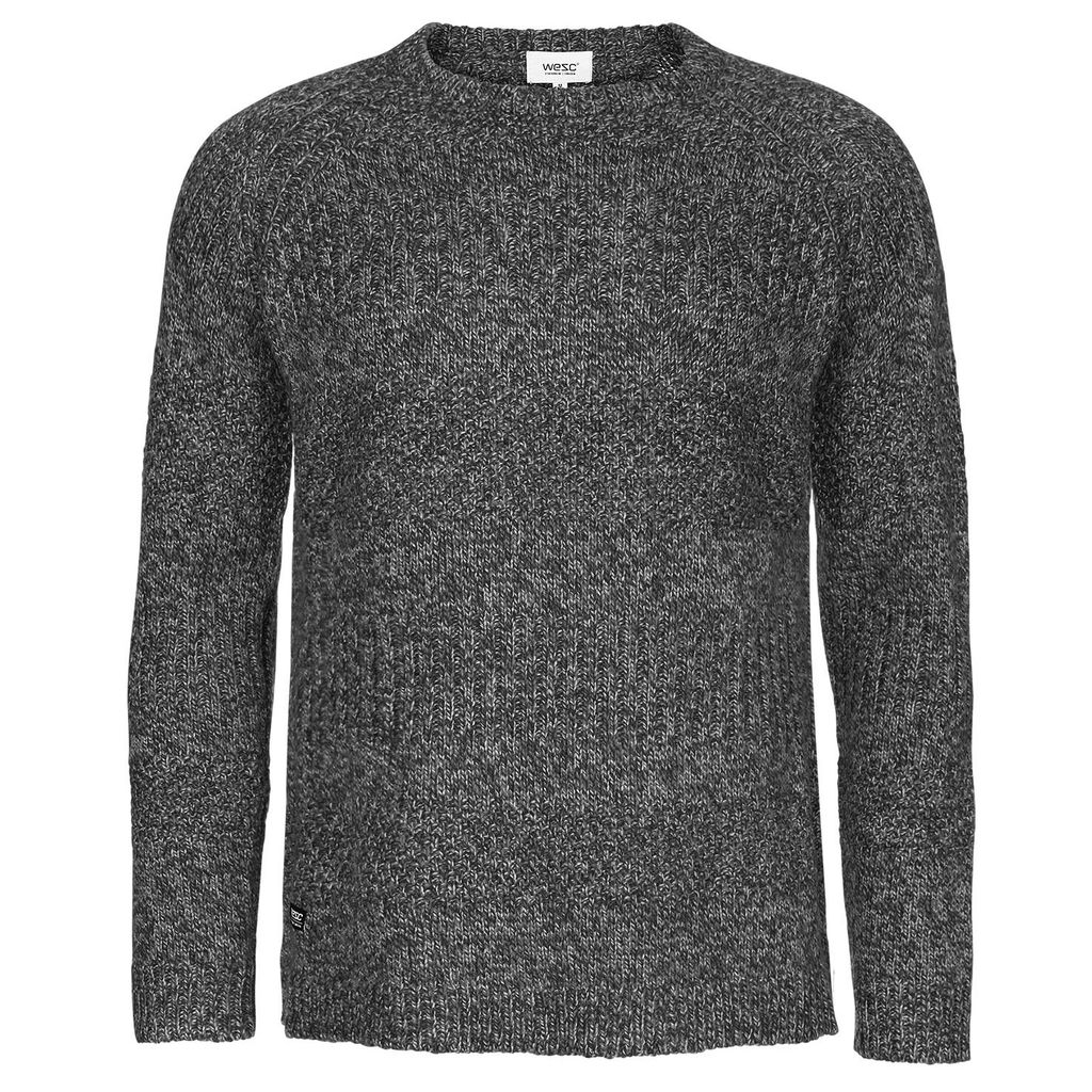 WESC WeSC, Aro Knitted Sweater, grey melange, XL
