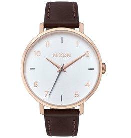 Nixon Nixon, Arrow Leather, rosegold/silver