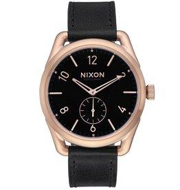 Nixon Nixon, C39 Leather, rosegold/black