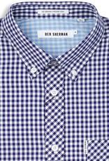 Ben Sherman Ben Sherman, Gingham Mod, Blue Depths, XL