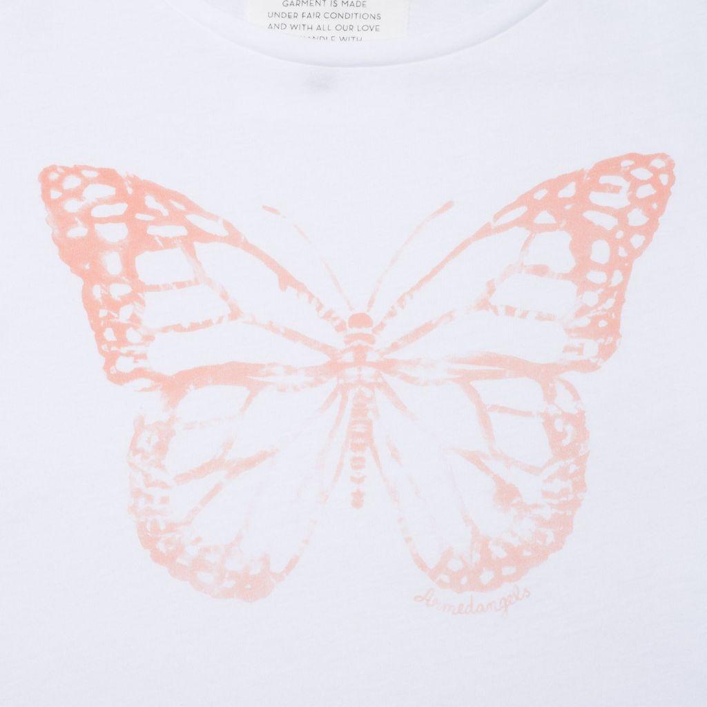 armedangels Armedangels, Uma Batik Butterfly, white, S
