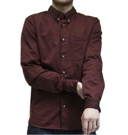 RVLT RVLT, 3301, Shirt, bordeaux, M