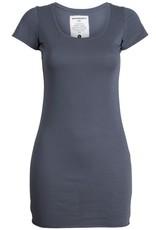 armedangels armedangels, Cleo T-Shirt, mid grey, XS
