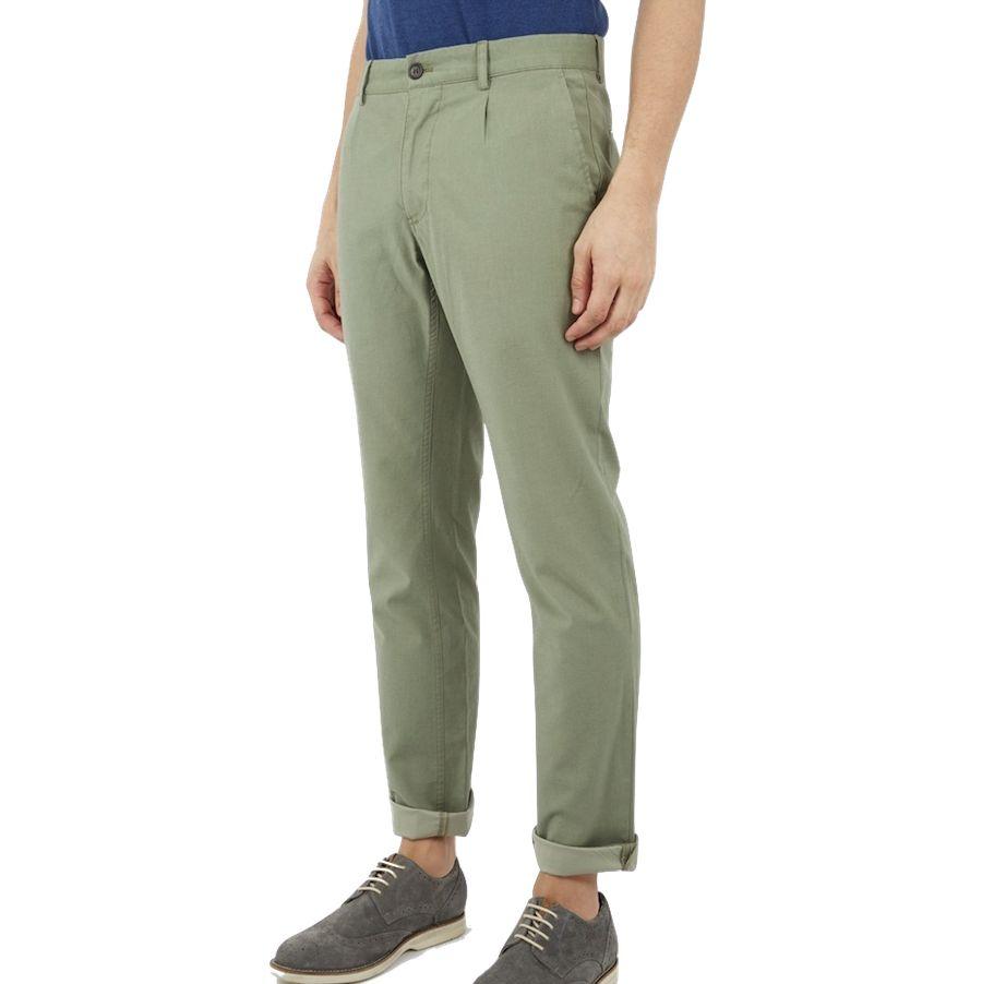 Ben Sherman Ben Sherman, Chambray Trouser, mititary green, 33/34