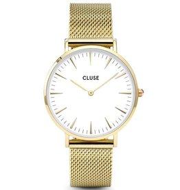Cluse Cluse, La Bohème Mesh, gold/white