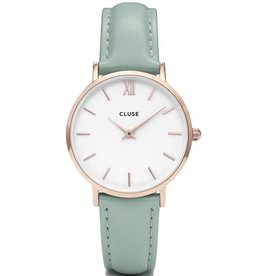 Cluse Cluse, Minuit, rose gold/ white/ pastel mint