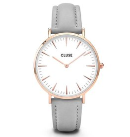 Cluse Cluse, La Bohème, rose gold white/grey