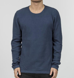 RVLT RVLT, 6397 Structure Knit, Blue, XL