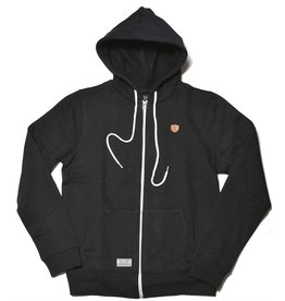 Safari Safari, Twine Zip-Hoody, black, L