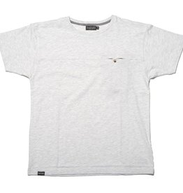 Safari Safari, Hidden T-Shirt, white melange, M