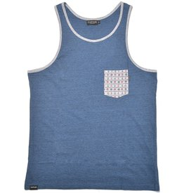 Safari Safari, Harbor Tanktop, blue melange, M