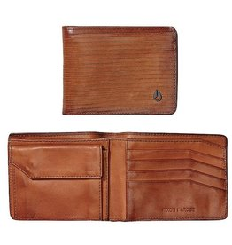 Nixon Nixon, Arc Bi-Fold Wallet, Tan
