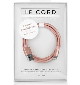 Le Cord LeCord, Solid 2 Meter, rose gold