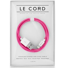 Le Cord LeCord, Solid Pink