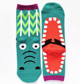 Cutie Socks Cutie Socks, Big Mouth Crocodile, 36-40
