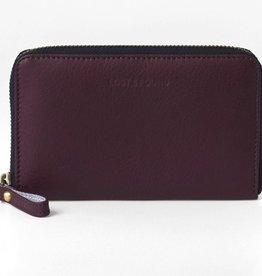 Lost & Found Accessories Lost & Found, Mittleres Reissverschluss Portemonnaie, burgundy