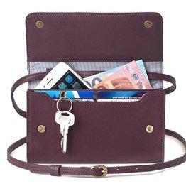 Lost & Found Accessories Lost & found, Mini Tasche Plus, burgundy