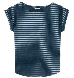 Wemoto Wemoto, Bell Stripe, blue melange/white, S