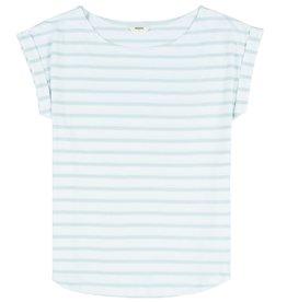 Wemoto Wemoto, Bell Stripe, white/mint, L