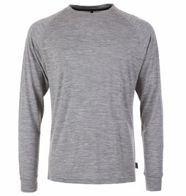 pallyhi PallyHi, CrewNeck Longsleeve, heather grey, M