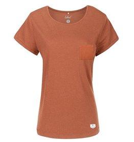 Bleed Bleed, Leinen T-Shirt, rusty red, S