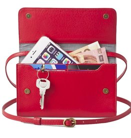 Lost & Found Accessories Lost & found, Mini Tasche Plus, tangerine red