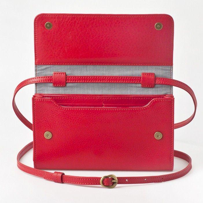 Lost & Found Accessories Lost & found, Mini Tasche Plus, tangerine red