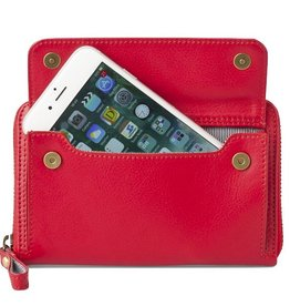 Lost & Found Accessories Lost & Found, Smartphone Portemonnaie mittel, tangerine red