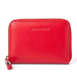 Lost & Found Accessories Lost & found, kl. Reissverschlussportemonnaie, tangerine red