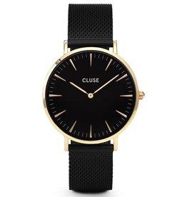 Cluse Cluse, La Bohème Mesh, gold black/black
