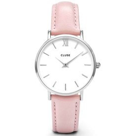 Cluse Cluse, Minuit, silver white/pink
