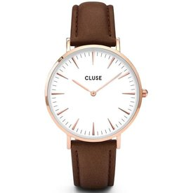 Cluse Cluse, La Bohème, rose gold white/brown