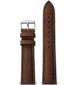 Cluse Cluse, La Bohème Strap, brown/silver