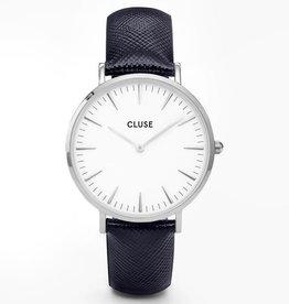 Cluse Cluse, La Bohème, silver white/midnight blue