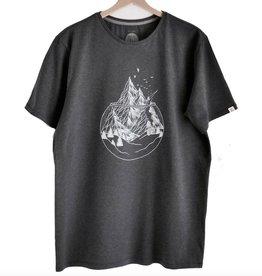 ZRCL ZRCL,  T-Shirt Mountains, onyx, L