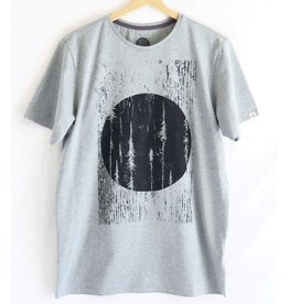 ZRCL ZRCL, T-Shirt Forrest, stone grey, S