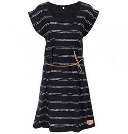Bleed Bleed, Sun Dress Striped, dark navy, XS