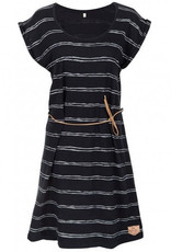 Bleed Bleed, Sun Dress Striped, dark navy, M