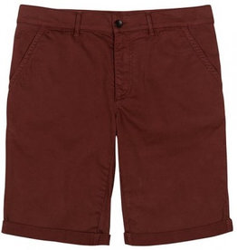 Bleed Bleed, Chino Shorts Rost, Red, XL