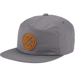 Nixon Nixon, Beachside Snap Back Hat, gray/gray