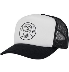 Nixon Nixon, Low Trucker Hat, white/black