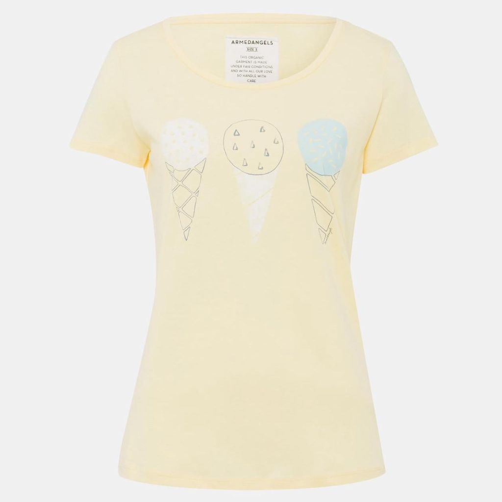 armedangels Armedangels, Mari Ice Cream, yellow, L