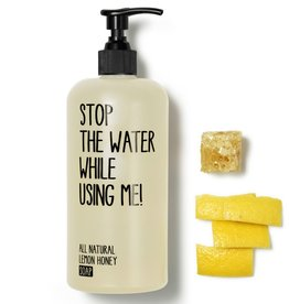 Stop the water while using me STOP THE WATER, Lemon Honey Soap, 200ml