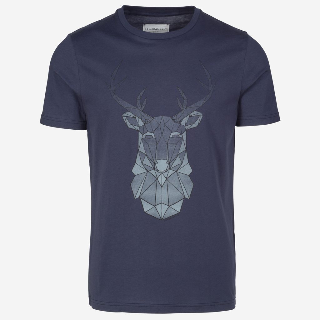 armedangels Armedangels, James Geo Deer, navy, XL
