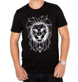 Longfieldstreet Longfieldstreet, Lion T-Shirt, allblack, L