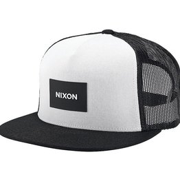 Nixon Nixon, Team Trucker Hat, black/white